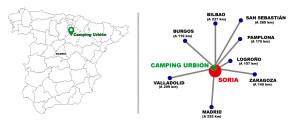 ubicacion camping urbion soria