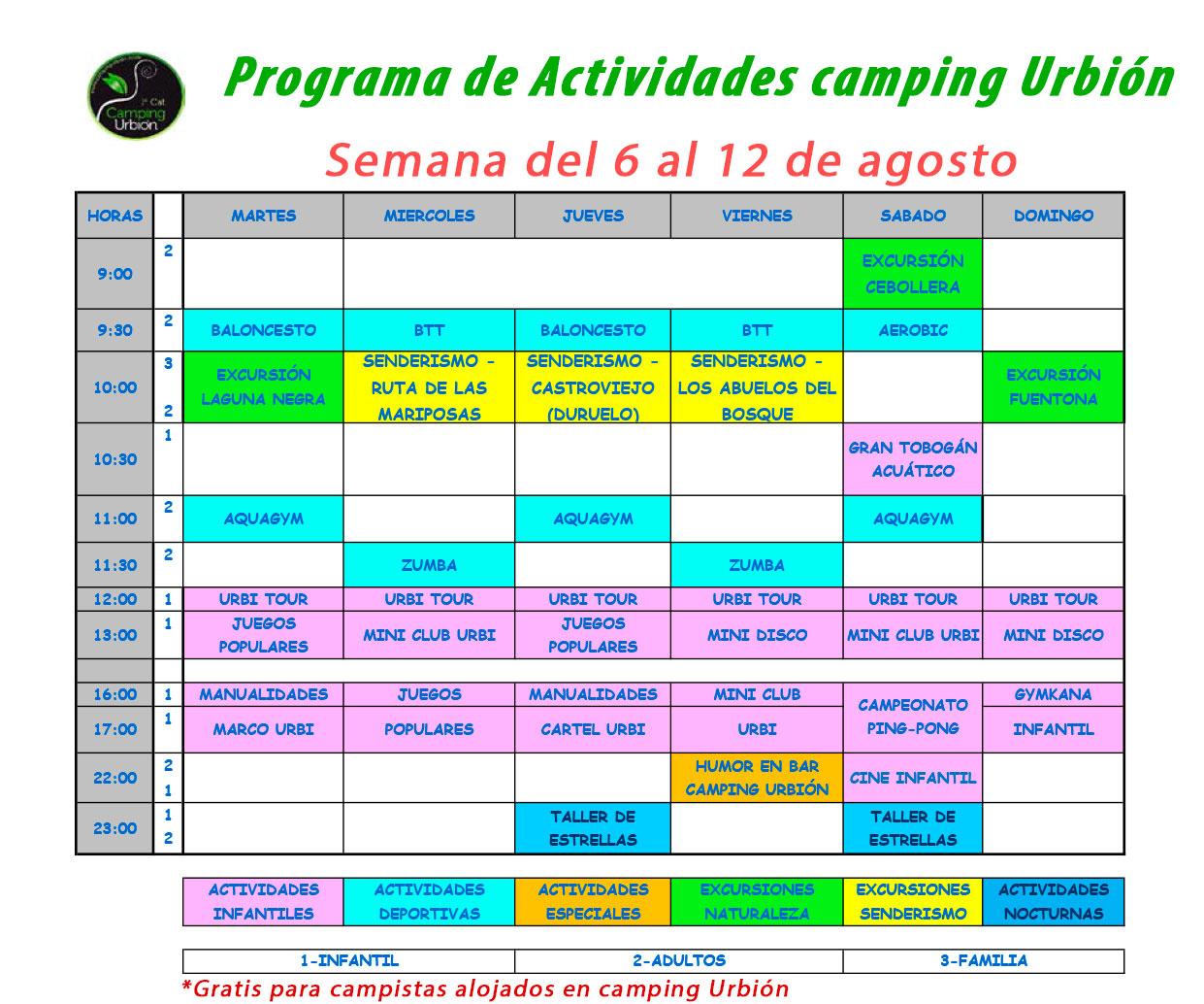 PROGRAMA-ACTIVIDADES-SEMANA-2-JULIO-CAMPING-URBION