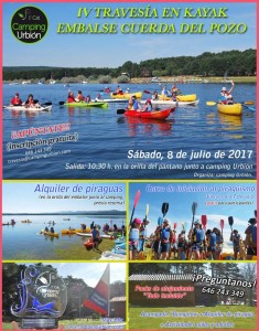 AVESIA KAYAKS EMBALSE CUERDA DEL POZO CAMPINGURBION 2017