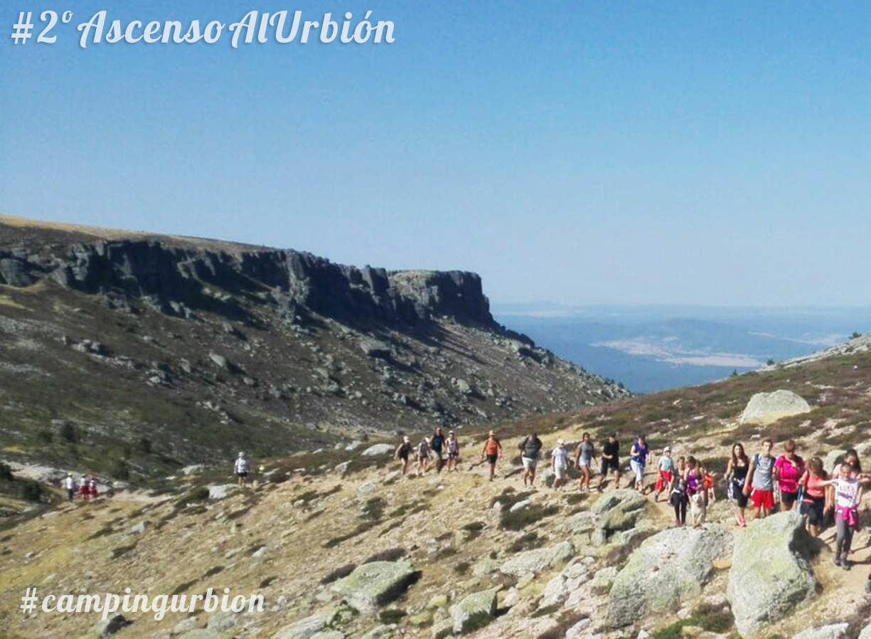 II ASCENSO A URBION EXCURSION TREKKING URBION