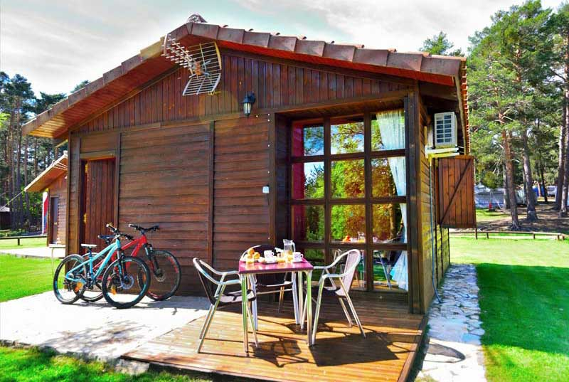 bungalows camping urbion soria