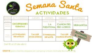 CARTEL-SEMANA-SANTA-2019-ACTIVIDADES-CAMPING-URBION