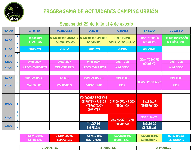 PROGRAMA-ACTIVIDADES-CAMPING-URBION-2019
