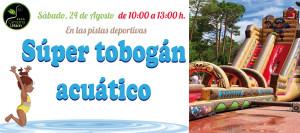 CARTEL-tobogan-acuatico