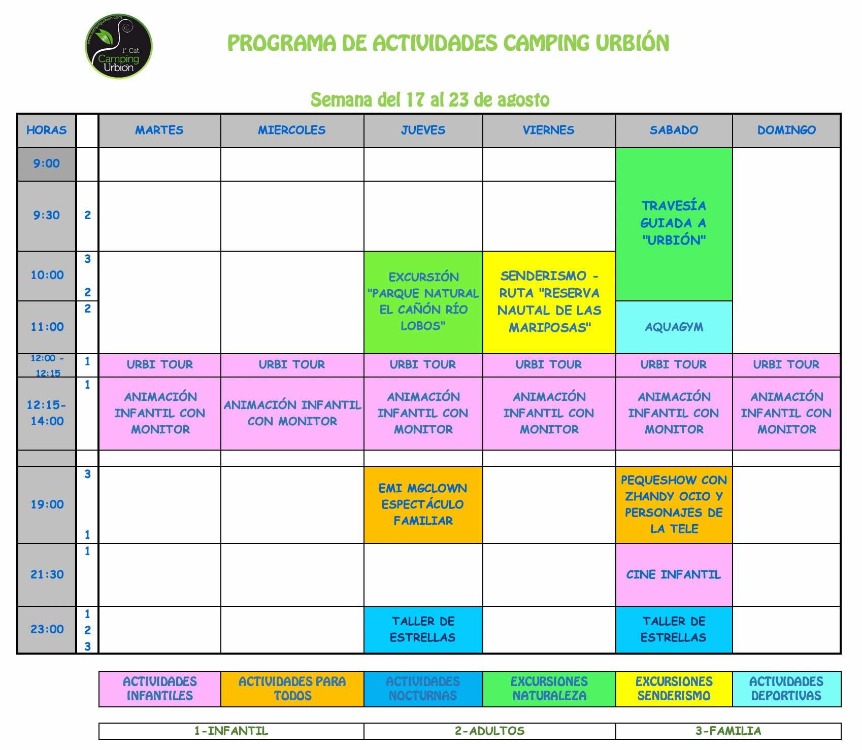 ACTIVIDADES-SEMANA-17-CAMPING-URBION-2020