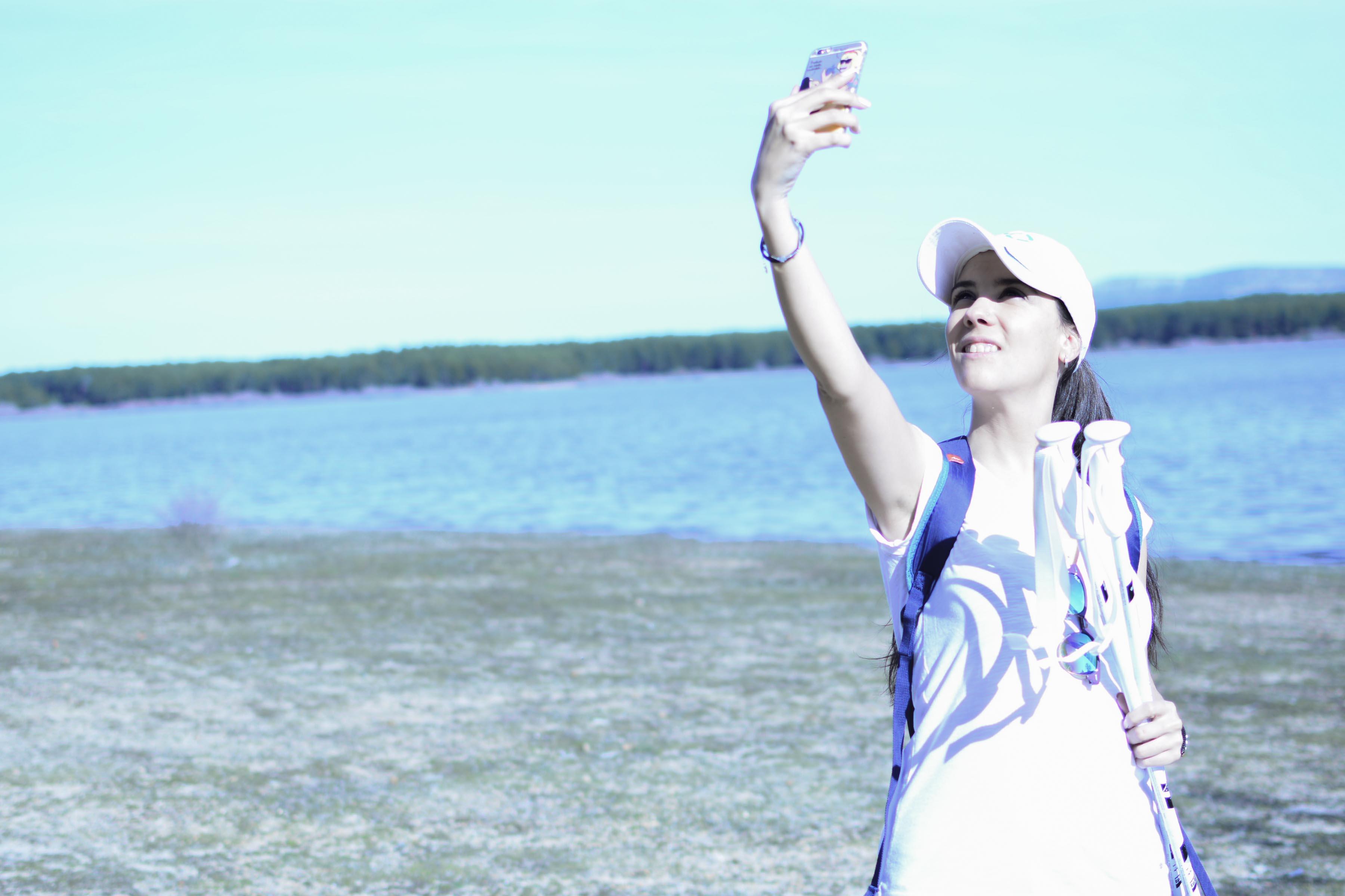 selfie embalse camping urbion soria